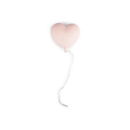 Form Living, väggdekoration rosa ballonghjärta