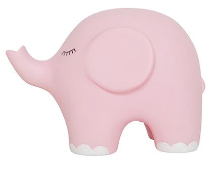 JaBaDaBaDo nattlampa rosa elefant