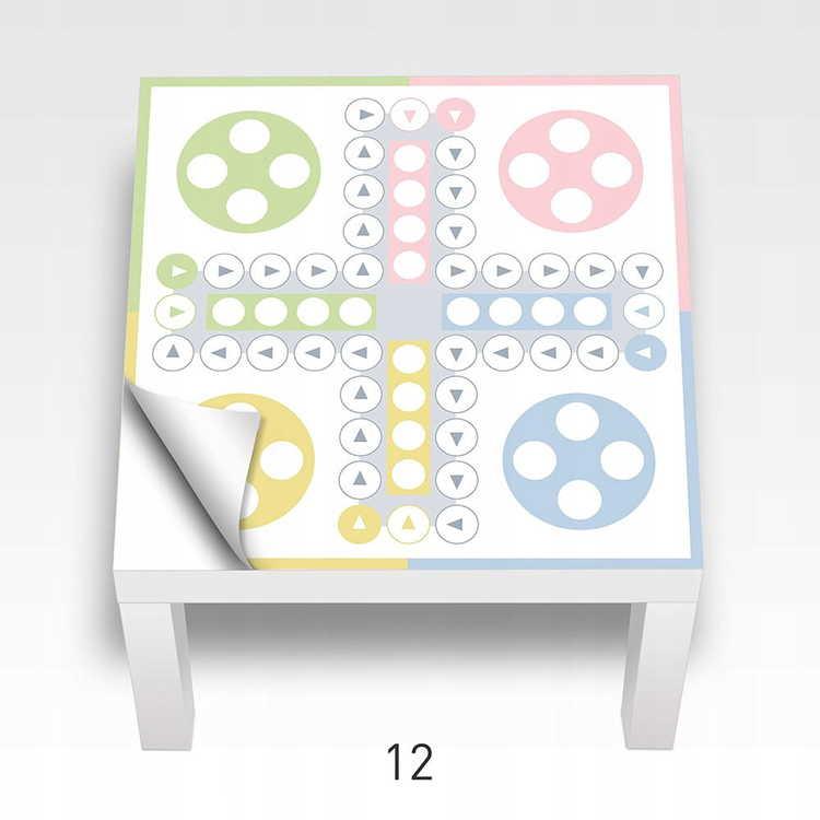 Fia med knuff- klistermärke till Ikea Lack sidobord