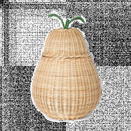 Ferm Living, päron stor förvaringskorg