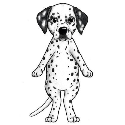 Stickstay dalmatinen Freckles