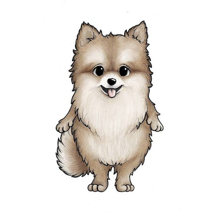 Stickstay pomeranian Honey