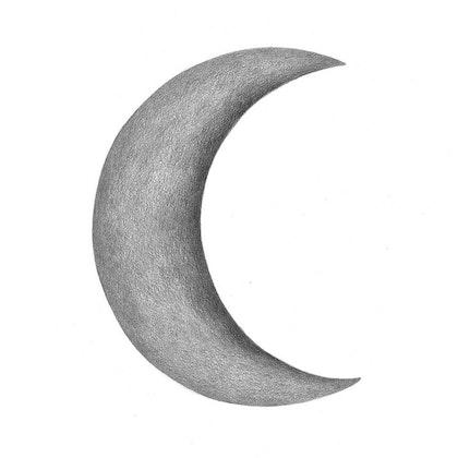 Stickstay Månskära mörkgrå