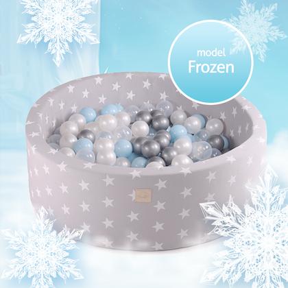 Meow, ljusgrå bollhav med 250 bollar, Frozen