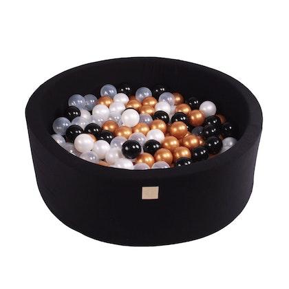 Meow, svart bollhav med 250 bollar, Glamour