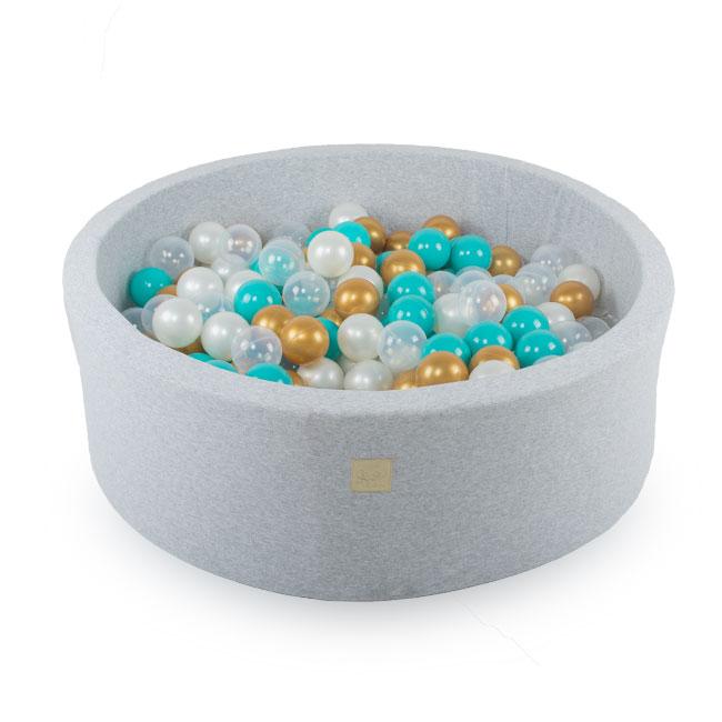 Meow, ljusgrå bollhav med 250 bollar, Dreams