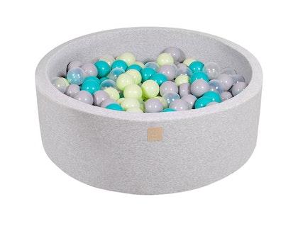 Meow, ljusgrå bollhav med 250 bollar, Jungle