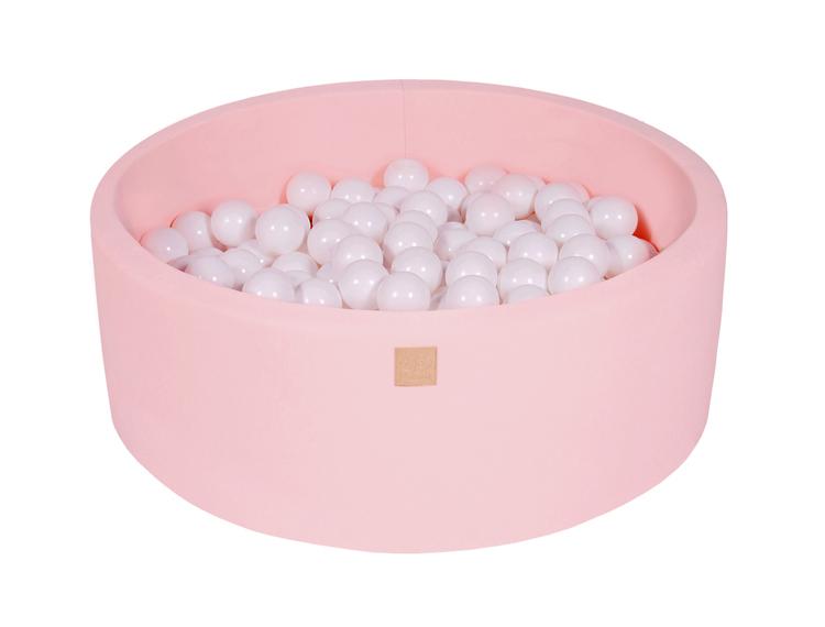 Meow, rosa bollhav med 250 vita bollar
