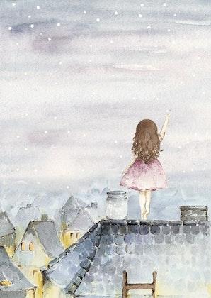 Poster sweet dreams,  poster till barnrummet