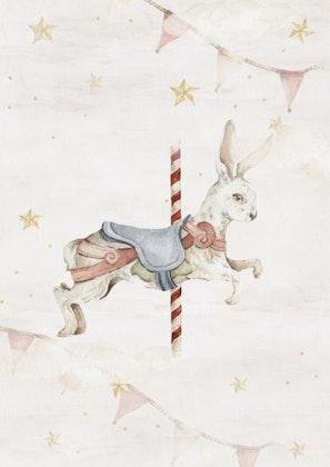 Poster magisk kanin, poster till barnrummet