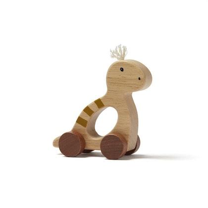 Kids Concept, leksak Dino på hjul