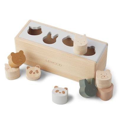 Liewood, sorteringslåda, midas puzzle box classic mix