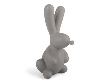 Form Living, keramik grå kaninballong dekoration