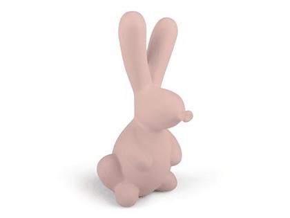 Form Living, keramik rosa kaninballong dekoration
