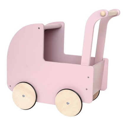 JaBaDaBaDo, rosa dockvagn i trä