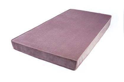 Sittdyna-Madrass i sammet 60x120, dusty pink