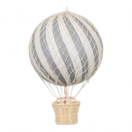 Luftballong Grå, 10 cm, Filibabba