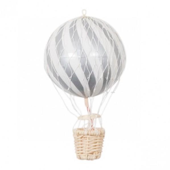 Luftballong Silver, 10 cm, Filibabba