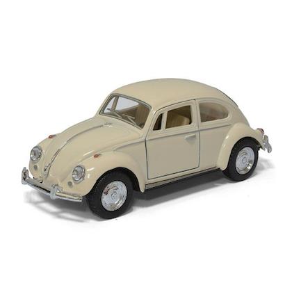 Leksaksbil stor Volkswagen classical beetle creme