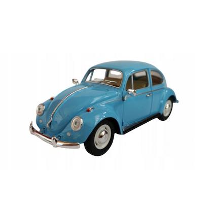 Leksaksbil stor Volkswagen classical beetle blå