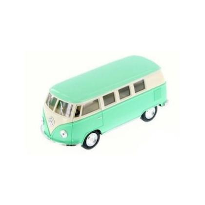 Leksaksbil stor Volkswagen pastell buss mint