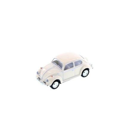 Leksaksbil Volkswagen pastell classic mini beige