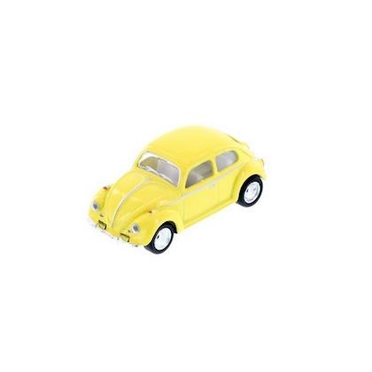 Leksaksbil Volkswagen pastell classic gul mini
