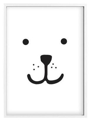 Telkiddo poster björn , A4