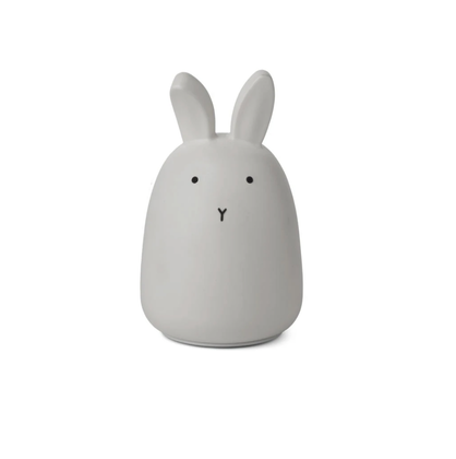 Liewood, Winston Night Light nattlampa, Rabbit Dumbo Grey