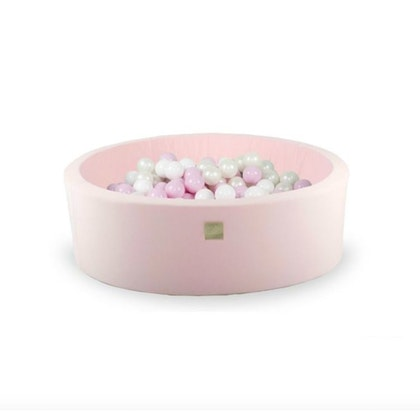Meow, ljusrosa bollhav med 200 bollar, Pretty Pink