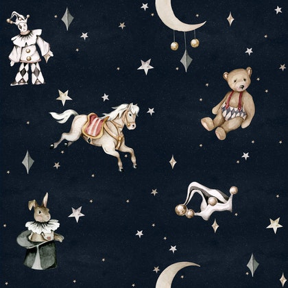 Dekornik, Tapet french toys in the night sky