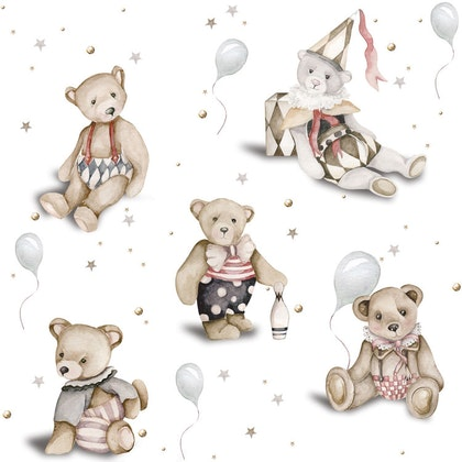 Dekornik, Tapet Teddy Bears