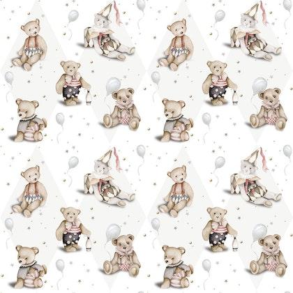 Dekornik, Tapet Teddy Bears french small