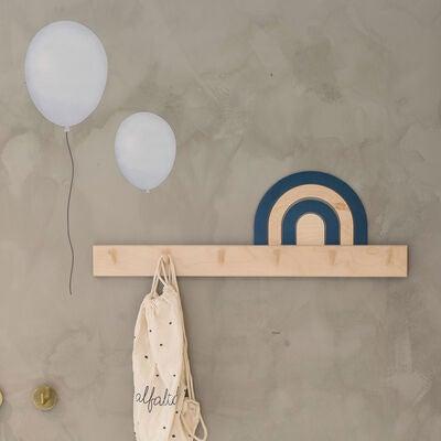 That`s Mine väggklistermärken ballonger 5-pack, blå