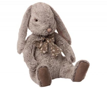 Maileg, Fluffy bunny, X-Large Grey
