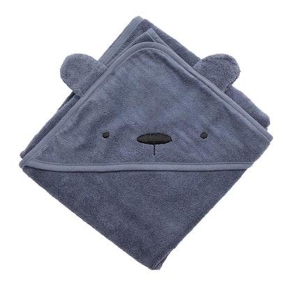 Sebra, terry handduk med huva, Milo the bear bramble