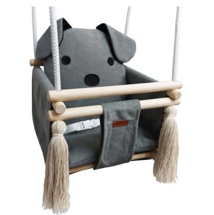 Babygunga grå hund