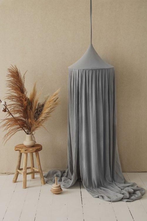Moi Mili, Sänghimmel - Pigeon Grey