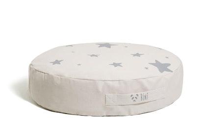 Bini puf, grey stars sittpuff