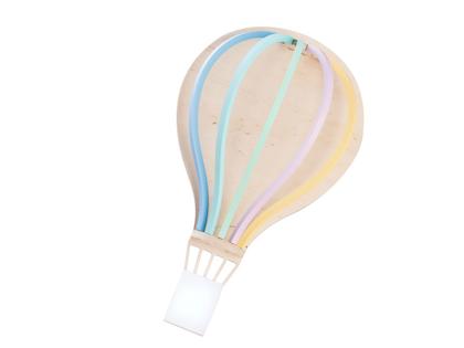 Up Warsaw, baloon luftballonglampa pastel mix