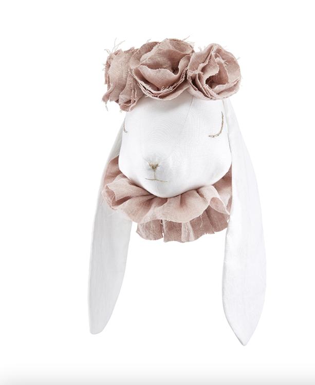 Djurhuvud magisk kanin, väggdekoration till barnrummet