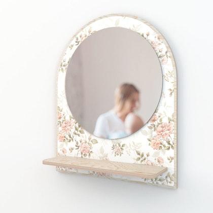 Dekornik, spegel roses