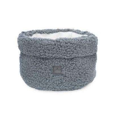 Jollein, förvaringskorg teddy soft grey