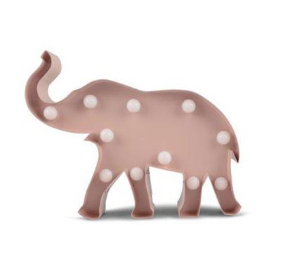 FORM Living Vägglampa elefant nattlampa, Rosa