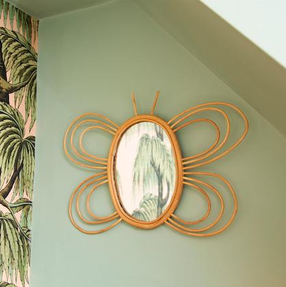 Sass & Belle, spegel av rotting- butterfly