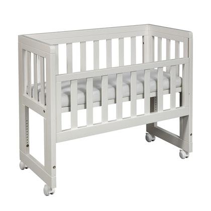 Troll, bedside crib Oslo, vit