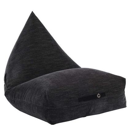 Fayne, modern saccosäck med ficka, black