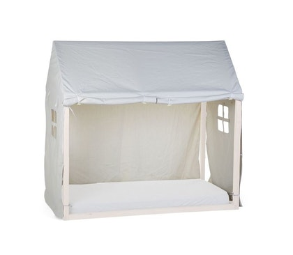 Childhome, sänggardin till hussäng 70x140 cm, white