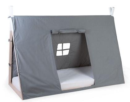 Childhome, sänggardin till tipisäng 90x200 cm, grey