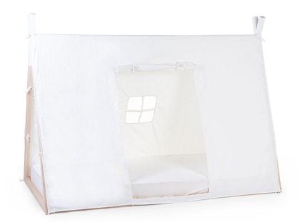 Childhome, sänggardin till tipisäng 90x200 cm, white